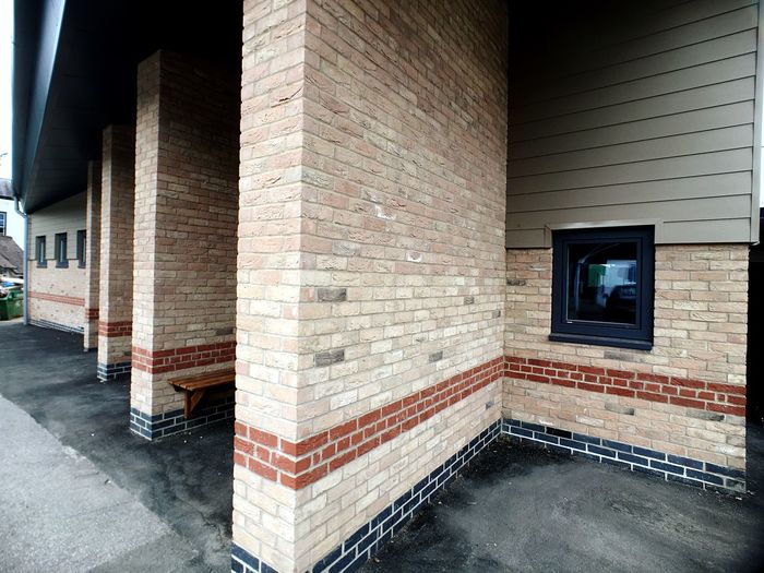 Architecture Brick Wall Building Exterior Pattern, Texture, Shape And Form Light And Shadow IPhoneography Architecture