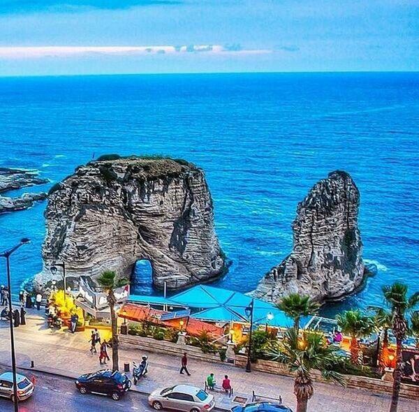 Alraouche, Bierut. Amazing View Lebanon