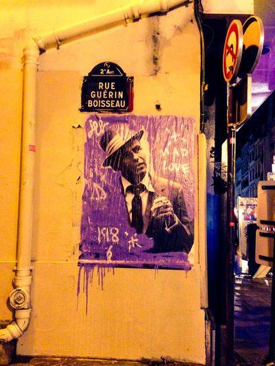 Paris Streetart Jackleblack Streetart Sinatra Mad Love StreetArtEverywhere Paris