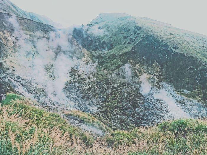 蠻美的✨ Landscape Sulfur  Geography 陽明山 小油坑 Taiwan Natural