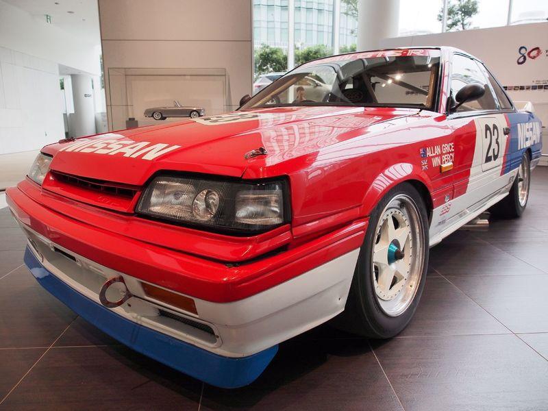 SKYLINE GTS-R 1988:KRR31 ETC Racing car. NISMO 30th Anniversary Racing Car Old Car Sexy Car