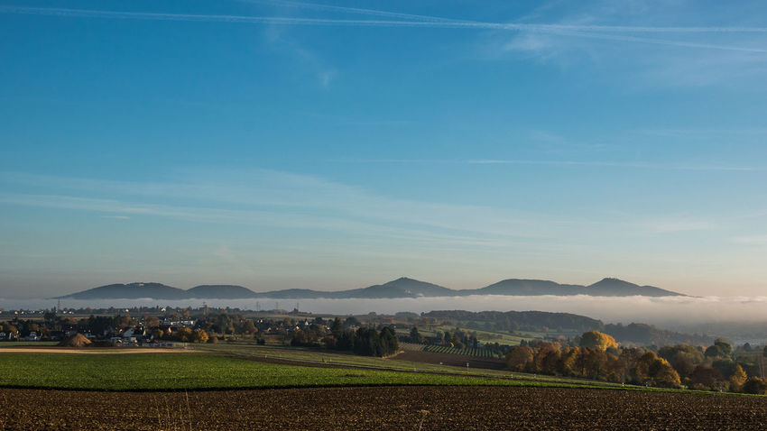 Mountain Mountain Range Nebel# No People NRW Outdoors Rheinland Siebengebirge Sky Sonnenaufgang Sunrise