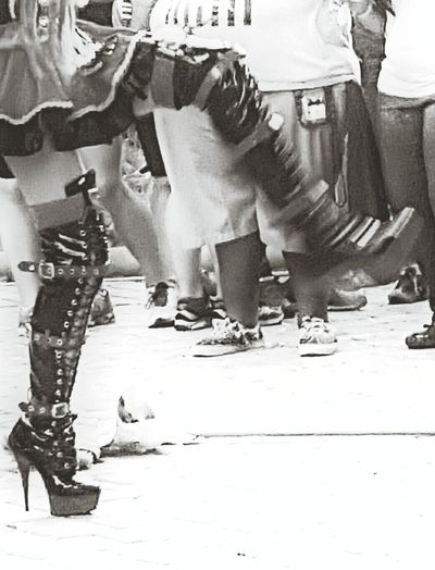 Need For Speed Pride Dragqueen  Washington, D. C. Around Me Eyemphotography My WorldEyem Eyem Black And White Eyem Best Shots Dancing Girl Blackandwhite High Heels Kicking