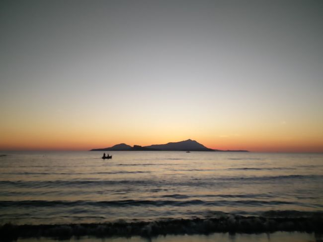 EyeEm Selects Dreams Sea Sunset Beach Horizon Over Water Outdoors Nature Water Silhouette Tranquil Scene Beauty In Nature Sky Scenics Tranquility No People Travel Destinations Clear Sky Vacations Wave Day Boat Miseno  Love