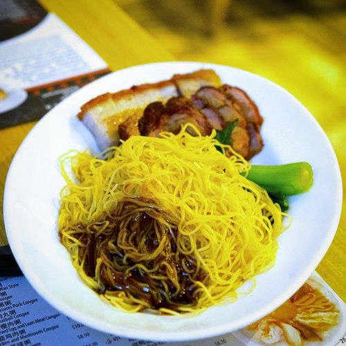 Another rather standard Roasted and BBQ Pork Noodle. Burpple Noodleplacerestaurant Roastedandbbqporknoodle Hongkongrestaurant hongkongfood orchardgateway