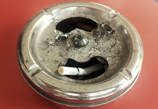 Smoke Kills Lung Cancer Bad Habits Poisonous