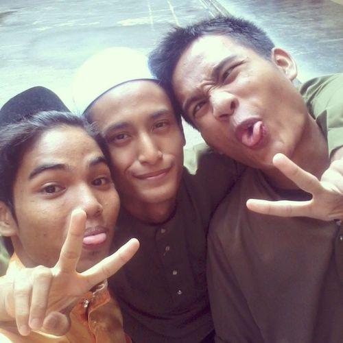 After SolatHajat Adib Syahir . We Crazy sporting