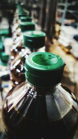 Botel Botellas Trabajo Desenfoque Desenfoque Selectivo Desenfocado