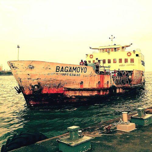 Water Nautical Vessel Waterfront Sea Outdoors Maputo Mozambique Africa Mare Porto Traghetto