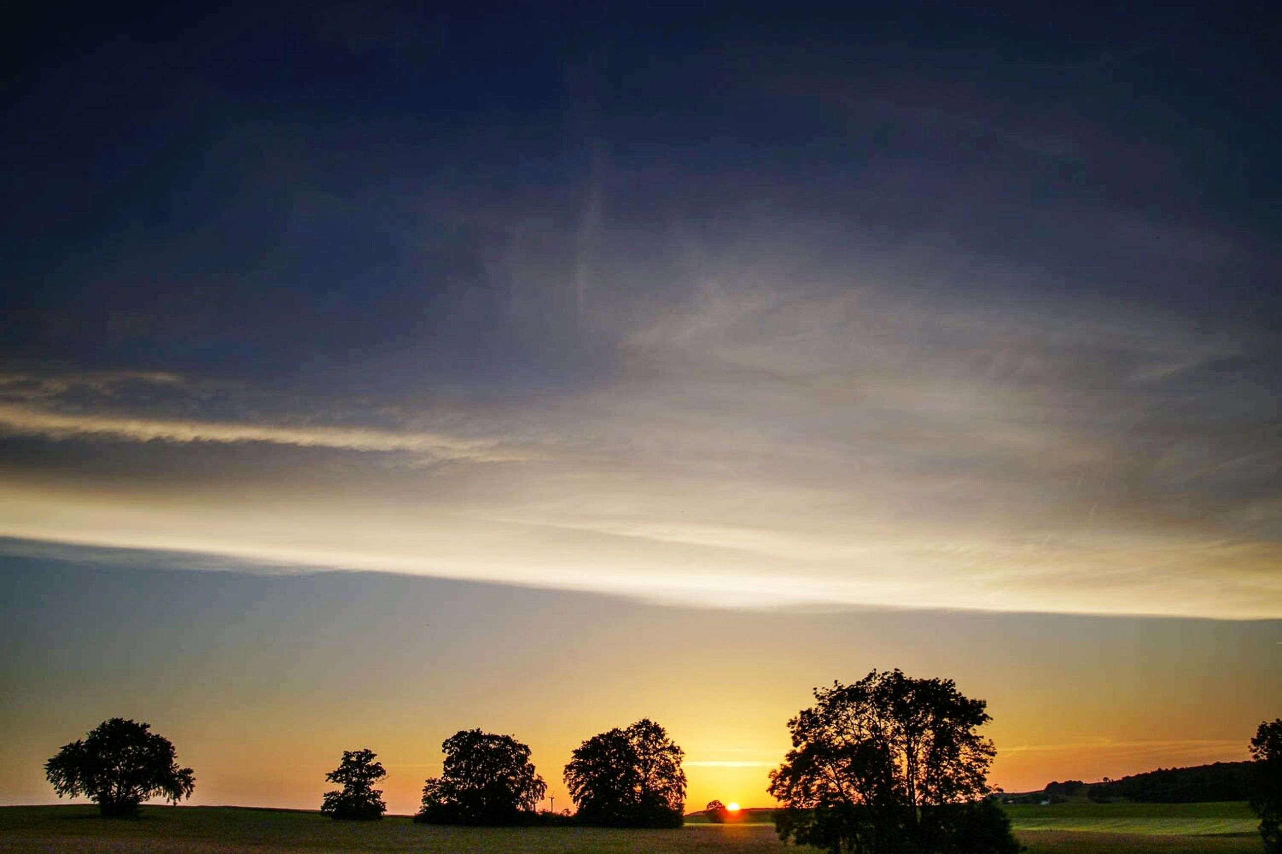 sunset, tree, sky, nature, silhouette, no people, landscape, cloud - sky, scenics, outdoors, beauty in nature, astronomy, day