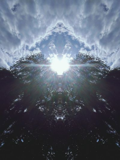 No People Cloud - Sky Nature Day Outdoors Sky Beauty In Nature Trees And Sun Sunny Day Sun Shape Of Heart Heart ❤ Heart Shape Clouds And Sky Sky And Clouds Clouds EyeEmNewHere Mirrorshot Mirroreffect Mirror Effect Mirror Fliter Trees Trees And Sky Mirror Efect Eyeem Market