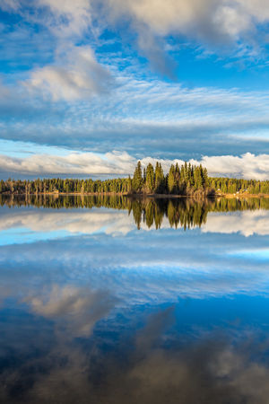 Reflections on Ness Lake, Northern British Columbia, Canada. Love Life, Love Photography Bc Beauty In Nature Blue Canada Cloud - Sky Clouds Day Forest George Interior Lake Nature Ness Night North Northern Outdoors PG Prince  Reflection Reflection Sky Tranquil Scene Tranquility Water The Great Outdoors The Great Outdoors
