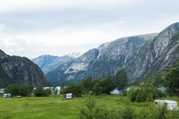 Fjords view