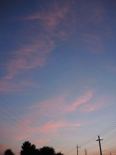Cotton Candy Cloud  Nikon P7700 Twilight