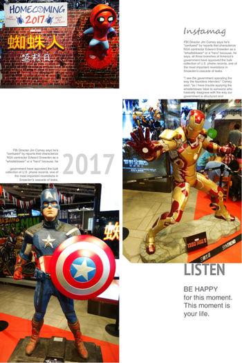 """一名女子與一名gay合租房子,有天晚上女子很沮喪,那個gay就很貼心的煮了碗麵給她吃,女子突然覺得很溫馨,就說:""""要不我們兩就這麼湊合過過算了。""""沒想到gay臉色大變回她:""""妳沒男人要,我可有的!"""" Captain America Iron Man Spider Man 蜘蛛人 鋼鐵人 美國隊長"""