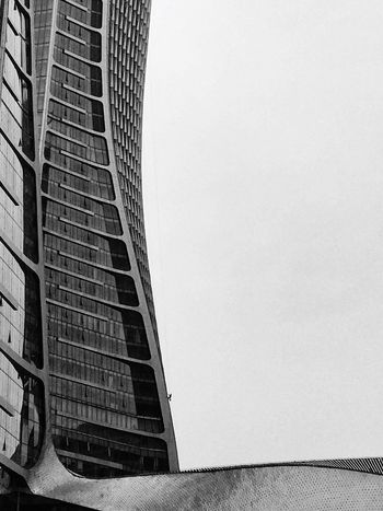 EyeEm Best Edits EyeEm Gallery Architecture Built Structure Building Exterior City Low Angle View Skyscraper No People Clear Sky Modern Outdoors Chinese Black And White City Black & White Popular Photos Architecture