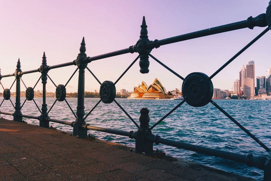 • Framed • Water Sea Nautical Vessel City Sky Sunset Built Structure Outdoors Travel Destinations Architecture No People Day Cityscape Framed Architecture_collection Leading Lines EyeEm Best Shots Sydney Sydneyoperahouse The Week On EyeEm