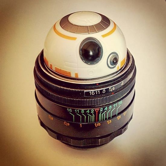 BB-Lens Macro Nexus5 Bb8 Starwars Star Wars Funart Lens Episode7 MOVIE Droid