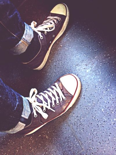 Time for textile on my feet Pf Flyers Selvedge Artic Monkeys Going To Work