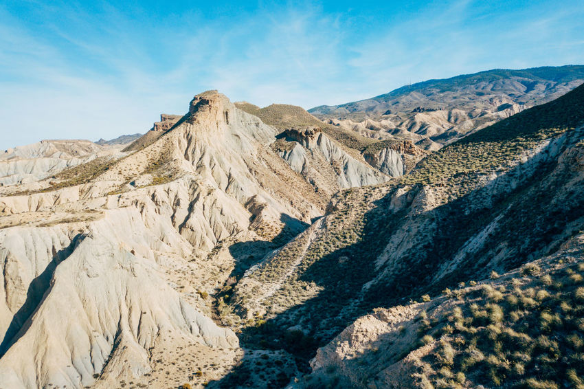 DJI X Eyeem Desert Wild West Aerial View Beauty In Nature Cloud - Sky Day Desert Landscape Landscape Mountain Mountain Range Nature No People Outdoors Physical Geography Range Sand Scenics Sky Sunlight Tabernas Desert Tranquil Scene Tranquility Western