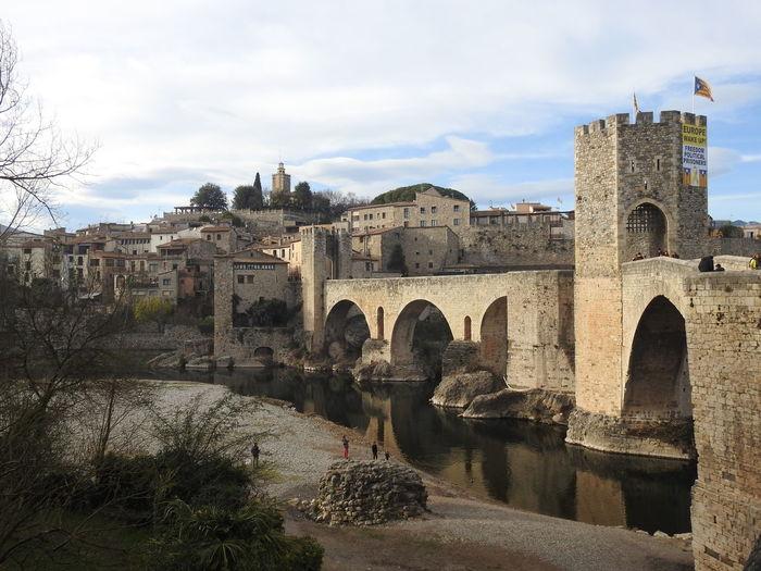 Besalú Catalonia Catalonia Is Not Spain Catalunya Bridge MedievalTown Medieval Medieval Bridge Medieval Architecture