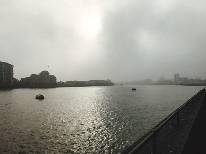 Foggy England