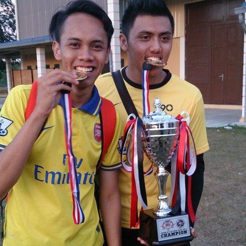 Alhamdulillah rezeki hari ni..memang tournament bola sepak antara hotel ii Champions HotelGloryBeachResort