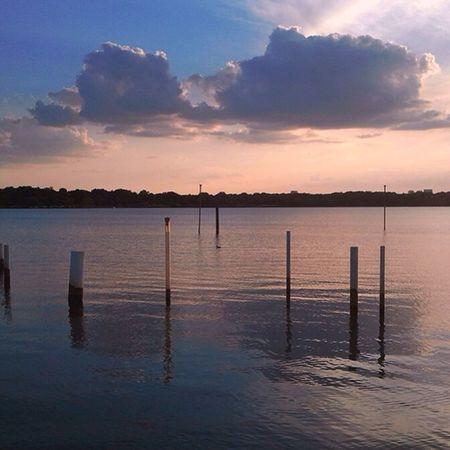 Sunset White Rock Lake Dallas Texas