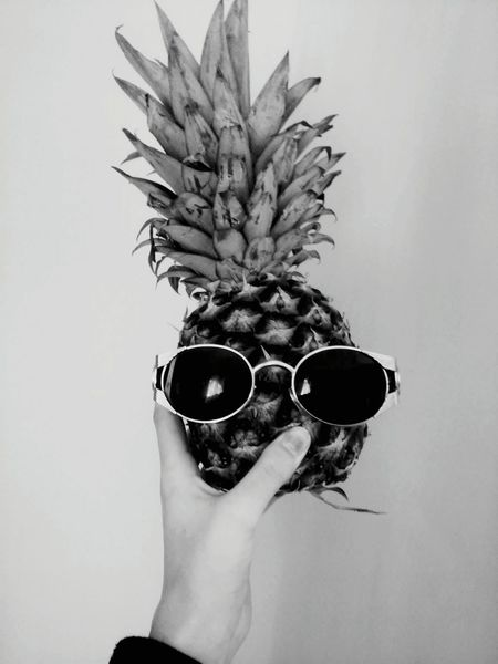 Freaky Sunglasses👓 Ananas 👌 Missing Summer EyeEmNewHere Welcome To Black Art Is Everywhere Black And White Friday Food Stories