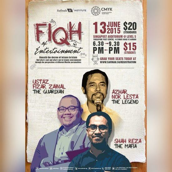 Another great talk by @safinahinstitute. This time collaborated with @cmykakis Woooohoooo.. Alhamdulillah.. Mustgo Letsgo Gojer Veryveryvery
