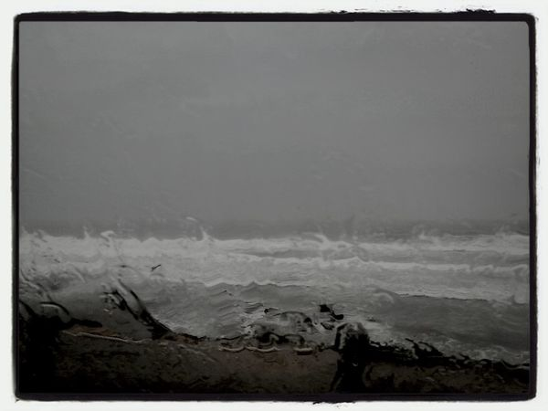 it was a winter time Winter By The Sea Water Falling From Heaven