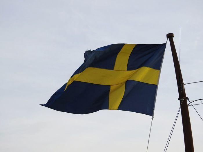Sweden flag in