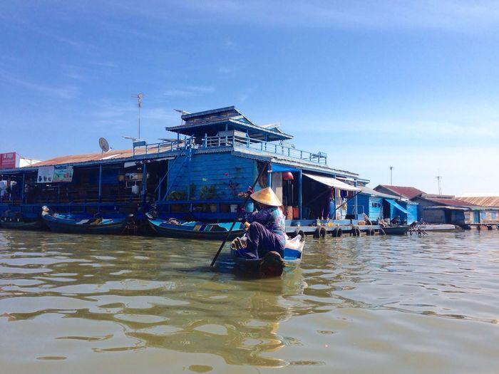 Floating Village Cambodia Imonaboat