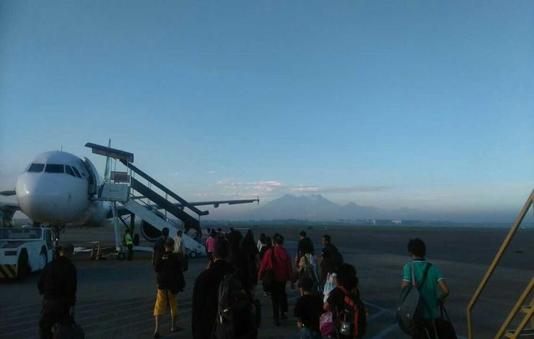 Ttavelling Surabaya In The Morning Surabayaairport Feel The Journey INDONESIA Skyporn AirPlane ✈
