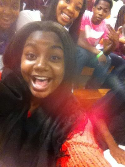Coolin At The Basketball Game