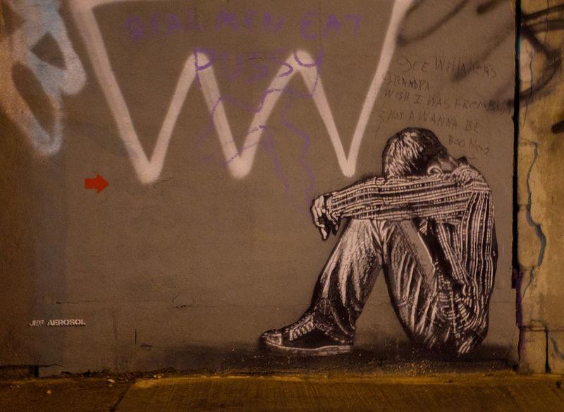 Art And Craft Blackandwhite Creativity Graffiti Human Leg Lifestyles Men Part Of Shoe Sitting Unrecognizable Person