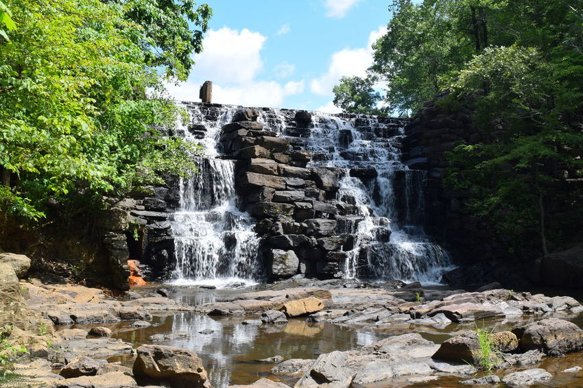 Alabama Alabama Outdoors BBQ Beauty In Nature Chewacla State Park Outdoor Alabama Outdoors Rock - Object Travel Destinations Water Waterfall Outdoor Photography