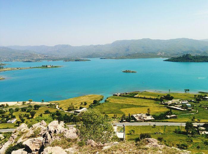 Khanpur Dam ... From a hill top .. Nexus 5
