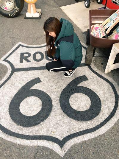 👧 + 🛣️ Route 66 LOL! Aichi,japan Me
