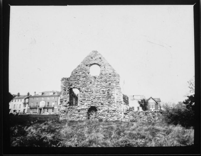 Christchurch Paper Negative Pinhole Photography Film Photography Ilford Obscura Black & White Dorset History