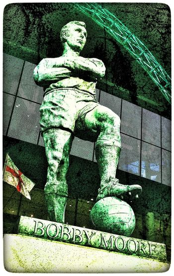 Legend, nuff said. Bobby Moore West Ham Wembley Wembley Stadium