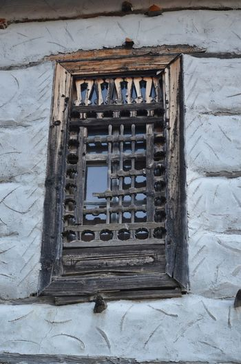 old window in ormana turkey Architecture Window Old No People Building Wall - Building Feature House Wood - Material Broken Wall Turkey Ormana Ormana Hauses Outdoors