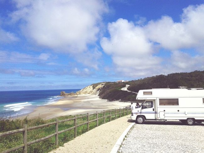 Caravaning Livetheliveyoulove Adventures Lovemylife♥ Relaxing Friends Taking Photos Enjoying Life Roadtripping Portuguesecoast Beach Outdoors Paredesdevitoria Camperlife Campers