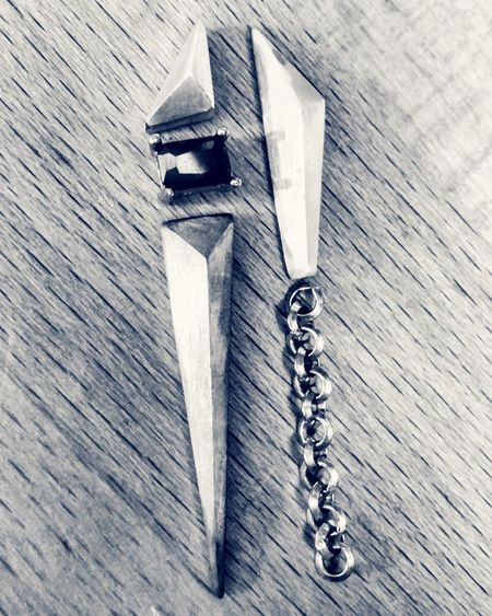 Trying out combos Metalsmith Handmade Jewellery Jewelrydesign Workbench Jewelry Taiwan Handmade Earrings