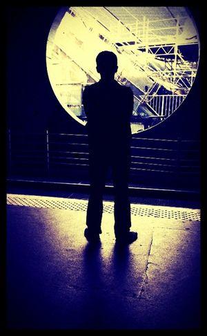 The enigma. Paris, La Defense, iPhone 4
