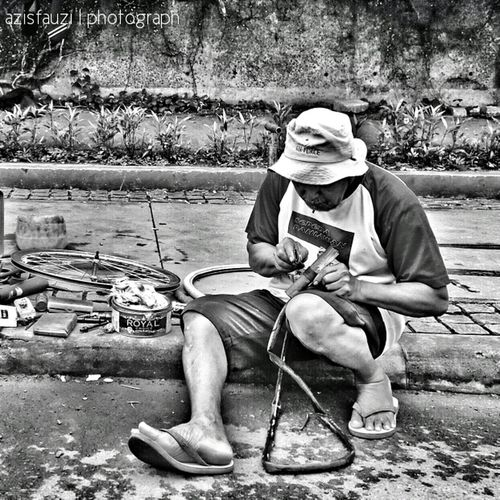penambal ban Istrie HDR Bw_indonesia Fotodroids