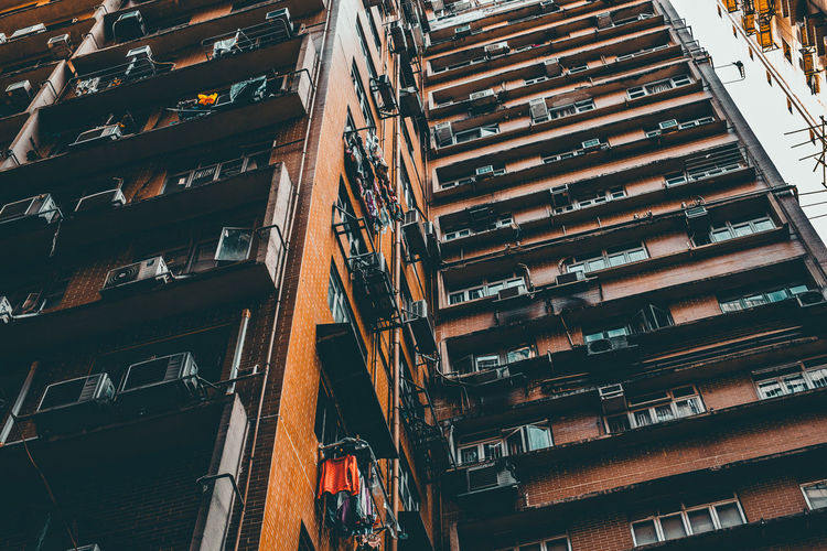 Thim Sha Tsui Architecture Building Exterior Built Structure City Day High Angle View Hongkongcity Large Group Of Objects No People Outdoors Residential Building Tower