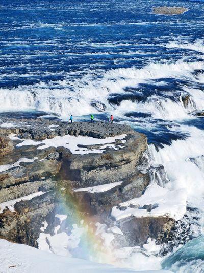Iceland Roadtrip Water Waterfall Colorful Rainbow Rushing Water Rocks Adventure Adventure Buddies Nikon D3200 Lost In The Landscape
