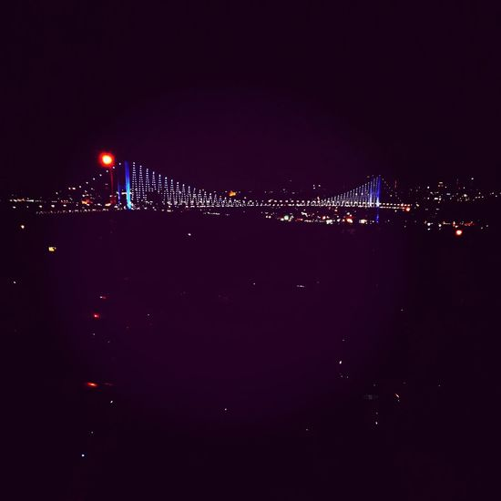 Bosphorus Bridge Night At Turkey Istanbul - Bosphorus