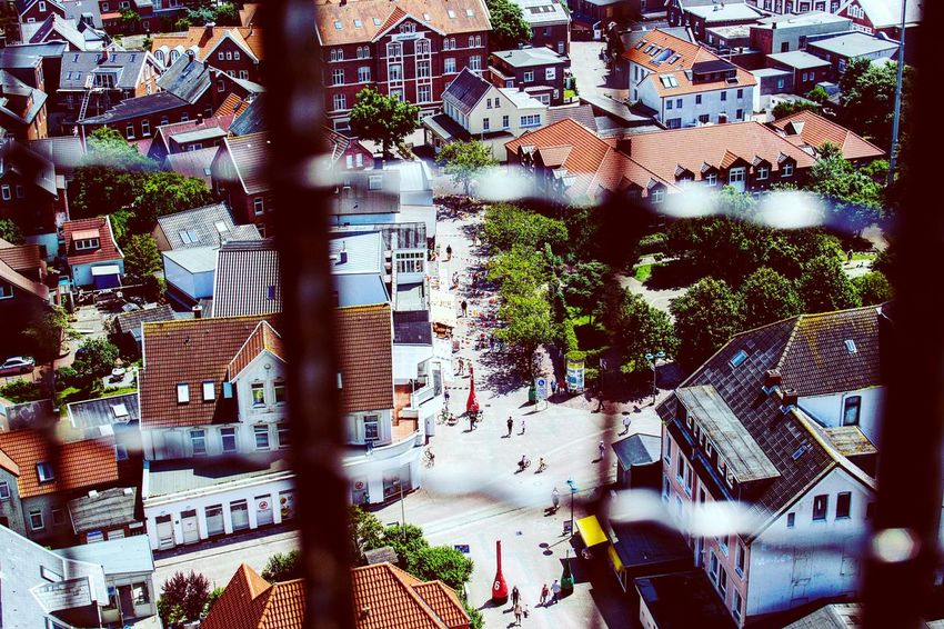 View From Above Behind Bars City View  Summertime Summer2016 Summerholidays Germany Borkum, Germany Borkum An Eye For Travel